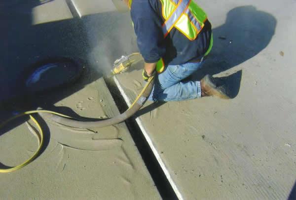 bridge expansion joint installation at Sunshine Industrial